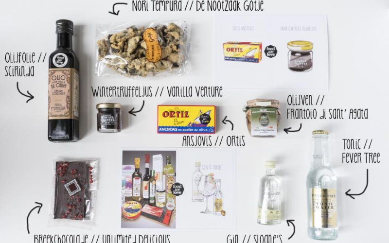 FoodWeLove Box Februari 2014